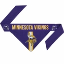 Minnesota Vikings Dog Bandana - Tie On (Large)