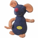 Multipet Deedle Dudes Mouse Dog Toy - 8""