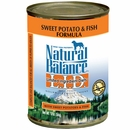 Natural Balance Limited Ingredient Diets - Sweet Potato & Fish (13 oz Can)