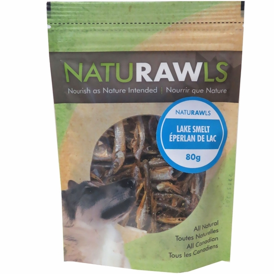 NatuRAWls Lake Smelt (2.82 oz)