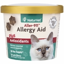 NaturVet Allergy Aid Plus Antioxidants for Cats (60 Soft Chews)