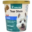NaturVet Tear Stain Plus Lutein (70 Soft Chews)