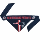 New England Patriots Dog Bandana - Tie On (Large)