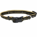 New Orleans Saints Dog Collar - Ribbon (Large)