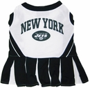 New York Jets Cheerleader Dog Dress - Medium