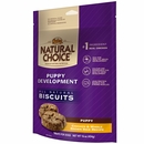 Nutro Natural Choice Puppy Development Chicken & Whole Brown Rice Biscuit - Puppy (16 oz)