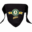 Oakland Athletics Dog Bandanas