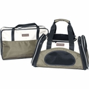 One for Pets One Bag Expandable Pet Carrier - Olive (Small)