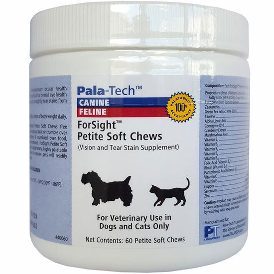 Pala-Tech ForSight Petite Soft Chews for Cats & Small Dogs (60 count)