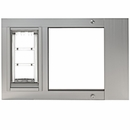 "Patio Pacific Thermo Sash 3e Satin Cat Door - Large (34""-37"")"