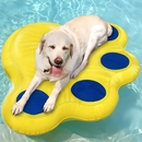 Paws Aboard Lazy Inflatable Raft Large - Blue/Yellow (12 ft)