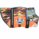 Paws Aboard Pet Life Jacket - Racing Flames (XXSmall)
