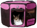"""Pet Gear Octagon Pet Pen With Removable Top 36"""" - Pink"""