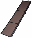 Pet Gear Travel-Lite Tri-Fold Pet Ramp - Chocolate/Black