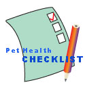 Pet Health Checklists