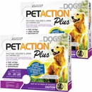 PetAction Plus Flea & Tick Treatment for Large Dogs 45-88 lbs - 6 MONTH