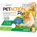 PetAction Plus Flea & Tick Treatment for Medium Dogs 23-44 lbs - 3 MONTH