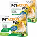 PetAction Plus Flea & Tick Treatment for Medium Dogs 23-44 lbs - 6 MONTH