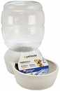 Petmate Replendish Waterer with Microban 4 Gallon - Pearl White