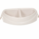 Petmate Ultra Heavyweight Double Diner Dish with Microban 2.5cup - Large
