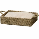 PetPals Seagrass Box Bed