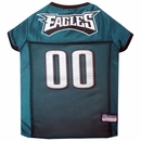 Philadelphia Eagles Dog Jersey - Small