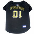 Pittsburgh Pirates Dog Jersey - Small