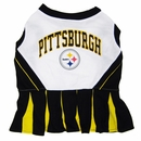 Pittsburgh Steelers Cheerleader Dog Dresses