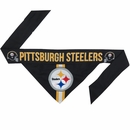 Pittsburgh Steelers Dog Bandana - Tie On (Large)