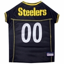 Pittsburgh Steelers Dog Jersey - Large