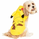 Pokemon Pikachu Hoodie Dog Costume - Large