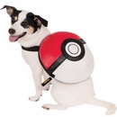 Pokemon Poke Ball Backpack Dog Costume - Small/Medium