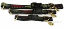 Premier Quick Snap Collars - RED & GREEN