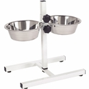 ProSelect Adjustable Diner with Bowls - Black (96 oz)