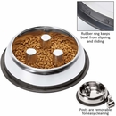 Proselect Stainless Steel Slow Feed Bowl (12 oz)