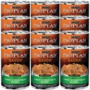 Purina Pro Plan Savor - Turkey & Vegetable Entrée Canned Adult Dog Food (12x13oz)