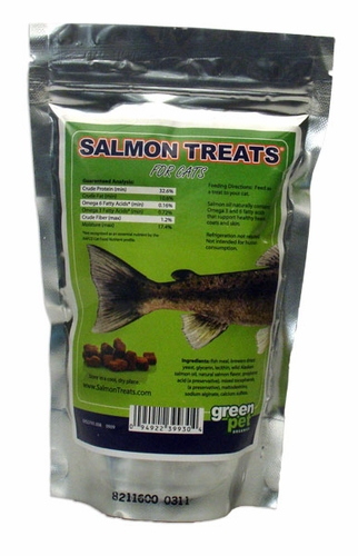 salmon treats for cats 4 oz. Black Bedroom Furniture Sets. Home Design Ideas