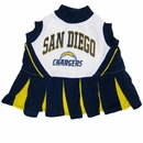 San Diego Chargers Cheerleader Dog Dress - Medium