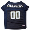 San Diego Chargers Dog Jersey - Medium