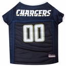 San Diego Chargers Dog Jerseys