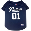 San Diego Padres Dog Jersey - XSmall