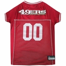 San Francisco 49ers Dog Jerseys