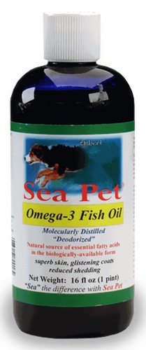 Sea pet omega 3 fish oil 16 fl oz for Dog food with fish oil