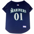 Seattle Mariners Dog Jersey - XSmall