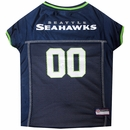 Seattle Seahawks Dog Jersey - XSmall