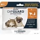 SENTRY CapGuard Flea Tablets for Dogs & Cats 2-25 lbs (6 pack)