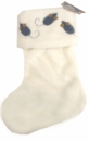 Snow White Glitter Stocking for Cats