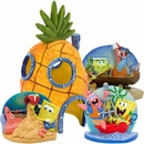 Spongebob Aquarium Ornament Sets