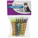 Spot Wide Colorful Springs Cat Toy (10 pack)