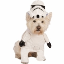 Star Wars Storm Trooper Dog Costume - Medium